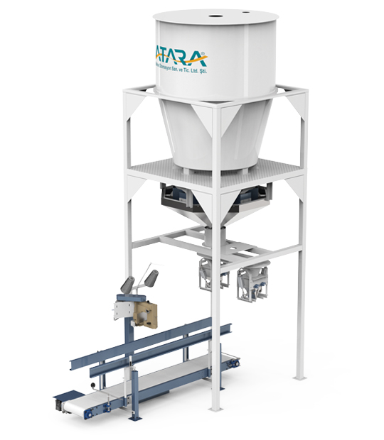 Under Silo Mobile Type Pulses Packing Machine (30-50 Kg)2