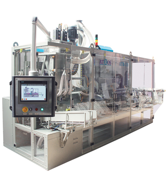 Four Station Unloading Double-Stage Weighing Rotational Robotic Flour Packing Line (25-50 Kg)3