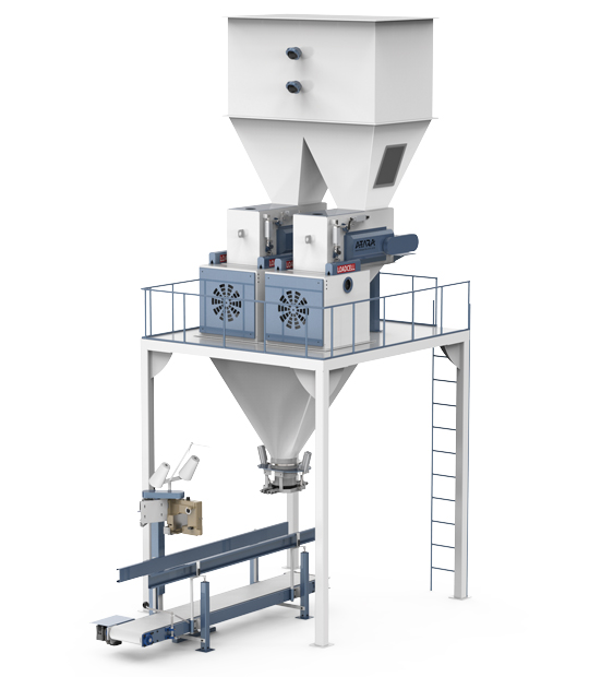 Single Weighing Single Station Feed Packing Machine (25-50 Kg)1