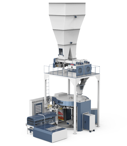 Double Weighing Single Station Flour Packing Machine (25-50 Kg)1