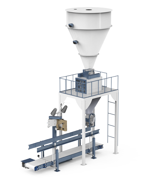 Double Weighing Single Station Pulses Packing Machine (5-10 / 10-25 Kg)2